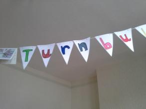. . . before we arrived. Welcome Turnbulls!