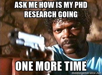 Ask me about my Doctoral Research