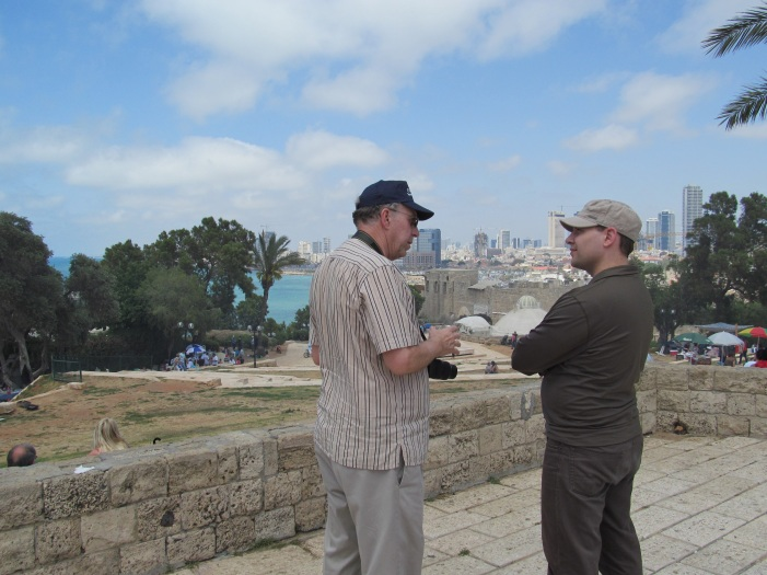 Ellis, my good friend, mentor, and at that time boss (here in Israel) . . .