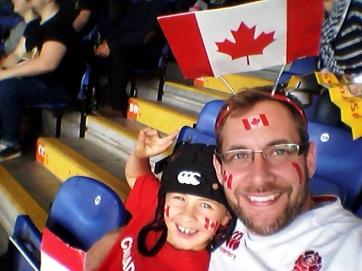 World Cup Canada v Romania