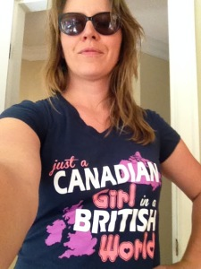 Canadian Girl in British World